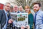 Pictured at the Launch of Kerry's Eye 1916 commemorative supplements are Colin Lacey, Editor Kerry's Eye, Kerry Mayor Pat McCarthy, Oliver Ring, KCC, Kate Kennelly, Kerry Arts Officer and Tom Dillon.