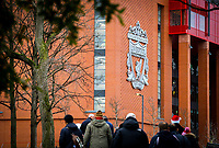 A general view of Anfield, home of Liverpool FC<br /> <br /> Photographer AlexDodd/CameraSport<br /> <br /> The Premier League - Liverpool v Manchester United - Sunday 16th December 2018 - Anfield - Liverpool<br /> <br /> World Copyright &copy; 2018 CameraSport. All rights reserved. 43 Linden Ave. Countesthorpe. Leicester. England. LE8 5PG - Tel: +44 (0) 116 277 4147 - admin@camerasport.com - www.camerasport.com