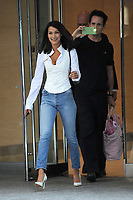 www.acepixs.com<br /> August 26, 2017 New York City<br /> <br /> Bella Hadid attends the fittings for the Victoria's Secret Fashion Show 2017 on August 26, 2017 in New York City.<br /> <br /> Credit: Kristin Callahan/ACE Pictures<br /> <br /> <br /> Tel: (646) 769 0430<br /> e-mail: info@acepixs.com