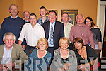 Function: At the Dan Kiely Rally function on Friday night at The Listowel Arms Hotel were front l-r: John Twomey, Margaret Sullivan, Eileen Grant, Nuala Costello. Back l-r: John O'Connor, Dan Mulvihill, Donal Kiely, Michael Twomey, Dan Kiely, Jim Gould, Pat O'Sullivan, Joan Kiely Henchy.