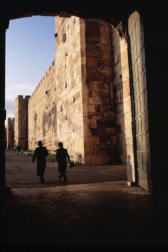 The Jaffa Gate. Jerusalem, Israel.