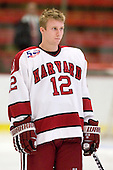 Colin Moore (Harvard - 12) - Sweden's Under-20 team defeated the Harvard University Crimson 2-1 on Monday, November 1, 2010, at Bright Hockey Center in Cambridge, Massachusetts.