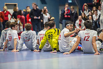 Mannheim, Germany, January 08: During the 1. Bundesliga men indoor hockey match between TSV Mannheim and Mannheimer HC on January 8, 2020 at Primus-Valor Arena in Mannheim, Germany. Final score 5-4. (Photo by Dirk Markgraf / www.265-images.com) ***