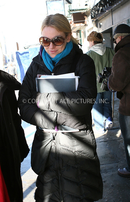 WWW.ACEPIXS.COM . . . . .  ....February 11 2010, New York City....Actress Naomi Watts out in Manhattan on February 11 2010 in New York City....Please byline: NANCY RIVERA- ACE PICTURES.... *** ***..Ace Pictures, Inc:  ..tel: (212) 243 8787 or (646) 769 0430..e-mail: info@acepixs.com..web: http://www.acepixs.com