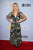 04 October 2017 - Los Angeles, California - Kaley Cuoco. CBS &quot;The Carol Burnett Show 50th Anniversary Special&quot;. <br /> CAP/ADM/FS<br /> &copy;FS/ADM/Capital Pictures