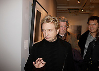 "Montreal (Qc) CANADA- November 13, 2007 -<br /> <br /> Andy Summers will welcome 400 VIPs<br /> during a special opening evening at the Galerie MX on November 13, 2007 for his exhibit :<br /> <br /> ""I'LL BE WATCHING YOU:<br /> INSIDE THE POLICE 1980-1983""<br /> <br />  Summers, one of the most prolific guitarists of all time, is now in the<br /> midst of The Police sold-out tour celebrating their 30th reunion. Andy Summers<br /> heralds his return with a biathlon of photographic output: an exclusive<br /> photographic exhibition in five cities, which have been produced by HP on its<br /> new HP Designjet Z3100 Photo Printer series, and a book published by Taschen.<br /> The gallery shows, presented in conjunction with Rockarchive.com began in June<br /> at the Laurie Frank Gallery in the famed Los Angeles art complex Bergamot<br /> Station, and will be followed by similar exhibitions in July at Newbury Fine<br /> Art in Boston and Gjethuset in Denmark.<br /> photo (c) Pierre Roussel -   Images Distribution"