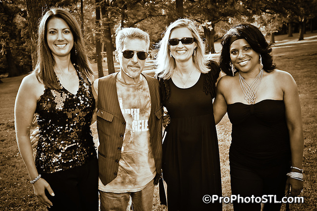 Johnny Rivers & the singers from the band Butch Wax and The Hollywoods