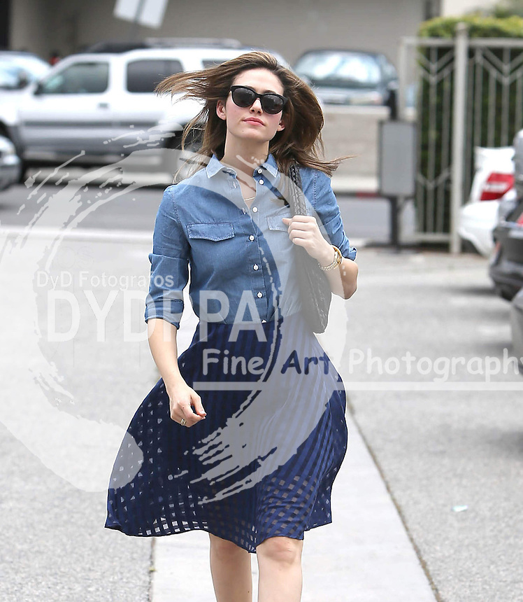 Amercian Actress &amp; songwriter  Emmy Rossum Sighted in Los Angeles<br /> This pic: Emmy Rossum<br /> JOB REF:18202   PHZ/STPR   DATE:15.05.2015