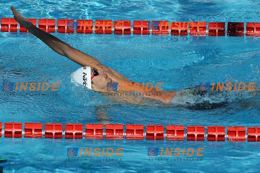 Ryosuke Irie Japan 200m Backstroke men.Roma 16/6/2012 Foro Italico.Nuoto Swimming 49mo trofeo settecolli.Foto Andrea Staccioli Insidefoto