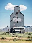 Grain elevators, Corral, Idaho.