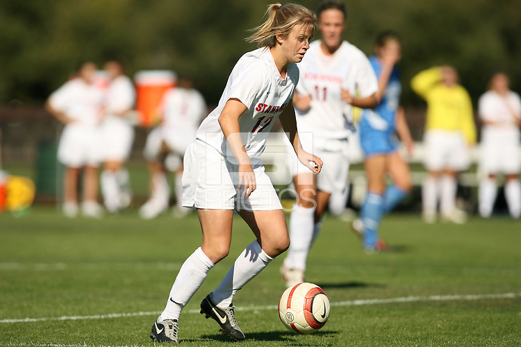 30 October 2005: Kelley Birch during Stanford's 0-0 tie to #4 ranked UCLA at Maloney Field in Stanford, CA.