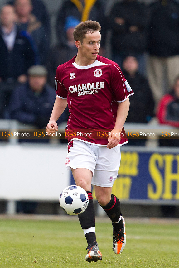 Sam Corcoran of Chelmsford City - Dartford vs Chelmsford City - Blue Square Conference South Football at Princes Park - 07/04/12 - MANDATORY CREDIT: Ray Lawrence/TGSPHOTO - Self billing applies where appropriate - 0845 094 6026 - contact@tgsphoto.co.uk - NO UNPAID USE.