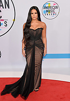 Demi Lovato at the 2017 American Music Awards at the Microsoft Theatre LA Live, Los Angeles, USA 19 Nov. 2017<br /> Picture: Paul Smith/Featureflash/SilverHub 0208 004 5359 sales@silverhubmedia.com
