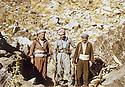 Iraq 1986<br /> Near Zakho, right, Hussein Benyame Brifki and left, Najmeddin Yousefi <br /> Irak 1986<br /> Pres de Zakho, a droite, Hussein Benyame Brifki et a gauche, Najmeddin Yousefi