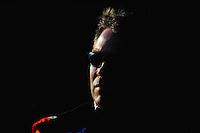 May 2, 2008; Richmond, VA, USA; NASCAR Sprint Cup Series driver Scott Riggs during qualifying for the Dan Lowry 400 at the Richmond International Raceway. Mandatory Credit: Mark J. Rebilas-US PRESSWIRE