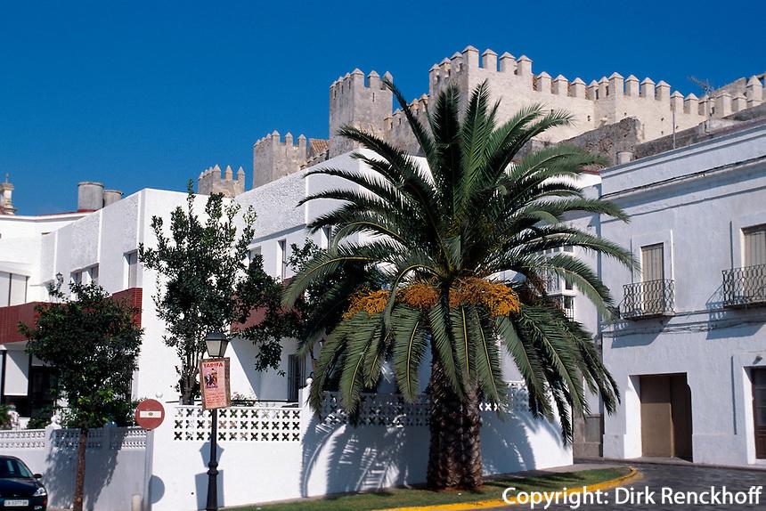 Spanien, Andalusien, Castillo de Guzman in  Tarifa