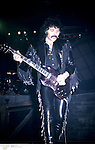 Tony Iommi of Black Sabbath performing on stage in the 1990's<br />