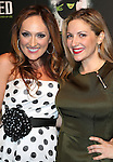 Tiffany Haas and Donna Vivino  attending the 10th Anniversary Celebration Party for 'Wicked'  at the Edison Ballroom on October 30, 2013  in New York City.