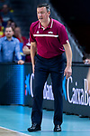 Coach Arnis Vecvagars of Latvia during the FIBA Basketball World Cup Qualifier match Spain against Latvia at Wizink Center in Madrid, Spain. September 17, 2018. (ALTERPHOTOS/Borja B.Hojas)