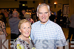 Nancy and Tom O'Neill from Listowel enjoying the Ceile last Saturday night in The Gables, Athea as part of the fundraising efforts for the Athea Road Race 2011.
