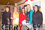 FETAC Certificate recipients at the O'Connell Centre in Cahersiveen on Thursday were l-r; Anna Kennedy, Pauline Lyne, Jenny Geary-O'Sullivan, Mary B O'Shea & Tina O'Sullivan.