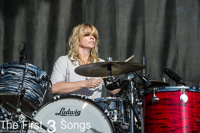 Stephanie Bailey of The Black Angels performs at the 2nd Annual BottleRock Napa Festival at Napa Valley Expo in Napa, California.