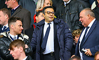 Leeds United owner and chairman Andrea Radrizzani takes his seat<br /> <br /> Photographer Alex Dodd/CameraSport<br /> <br /> The EFL Sky Bet Championship - Sheffield United v Leeds United - Saturday 1st December 2018 - Bramall Lane - Sheffield<br /> <br /> World Copyright &copy; 2018 CameraSport. All rights reserved. 43 Linden Ave. Countesthorpe. Leicester. England. LE8 5PG - Tel: +44 (0) 116 277 4147 - admin@camerasport.com - www.camerasport.com