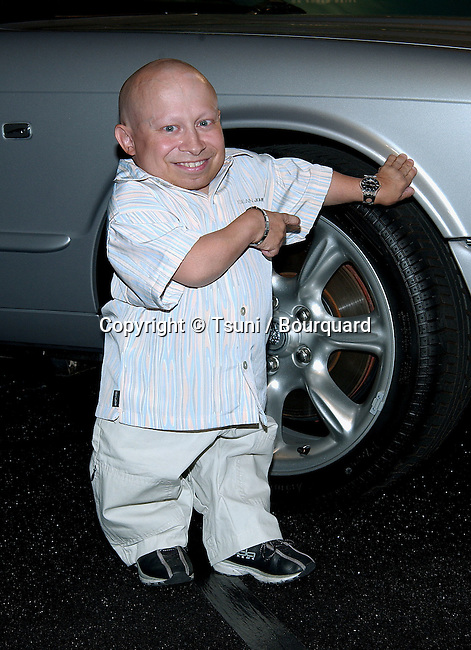 Verne Troyer arriving at The Jaguar's Tribute to Style and benefit for the EIF (Entertainment Industry Foundation) on Rodeo Drive in Beverly Hills, Los Angeles. September 23, 2002.