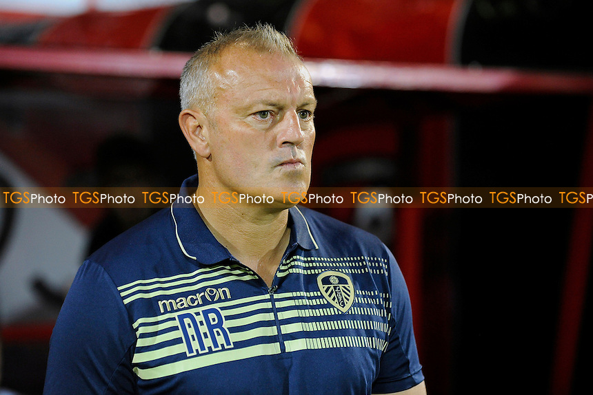 Leeds United Manager Neil Redfearn - AFC Bournemouth vs Leeds United - Sky Bet Championship Football at the Goldsands Stadium, Kings Park, Boscombe, Bournemouth, Dorset - 16/09/14 - MANDATORY CREDIT: Denis Murphy/TGSPHOTO - Self billing applies where appropriate - contact@tgsphoto.co.uk - NO UNPAID USE