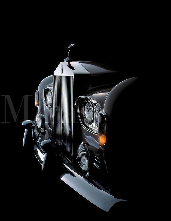 A 1965 Rolls Royce Silver Cloud III.