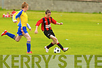 St Brendan's Park's Jessie Stafford-Lacey and Fairview's Kevin O'Connell.
