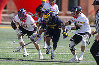 NCAA LACROSSE: Michigan at Maryland