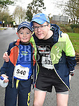Liam and Darragh Callaghan who took part in Erin's Run. Photo:Colin Bell/pressphotos.ie