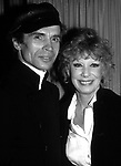 Gwen Verdon and Rudolf Nureyev attend an after party at Lincoln Center on April1, 1981 in New York City.