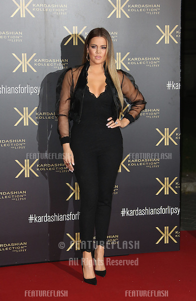 Khloe Kardashian at the Kardashian Kollection For Lipsy  launch party held at the Natural History Museum, London. 14/11/2013 Picture by: Henry Harris / Featureflash