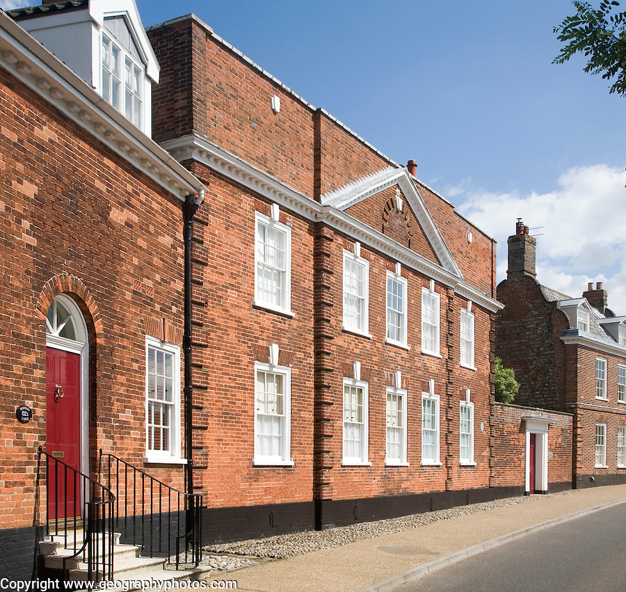 Historic Montagu House, Northgate, Beccles, Suffolk, England