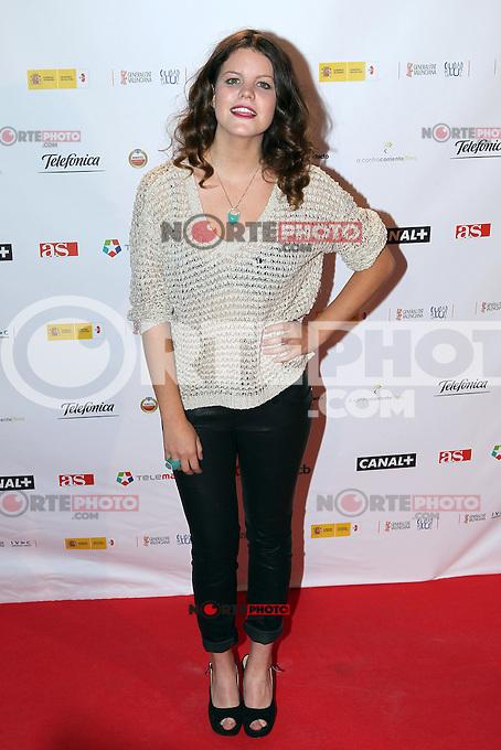 Carlota Cossials - Premiere En Fuera De Juego - photocall in Madrid