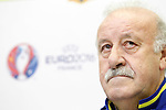 Coach Vicente del Bosque during trade event during Spanish national football team staff. March 21,2016. (ALTERPHOTOS/Acero)