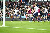 12th September 2017, Villa Park, Birmingham, England; EFL Championship football, Aston Villa versus Middlesbrough; Robert Snodgrass of Aston Villa crosses the ball into the danger area