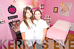 Tanya Murphy, proprietor of All About You Beauty Salon in Abbeyfeale with beauty therapist Helena Collins.   Copyright Kerry's Eye 2008