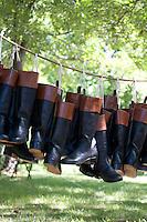 British Soldier Boots, Revolutionary War, Monmouth Battlefield State Park, New Jersey