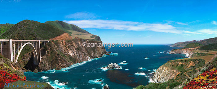 Big Sur, Pacific Coast Highway, Bixby Bridge CGI Backgrounds, ,Beautiful Background