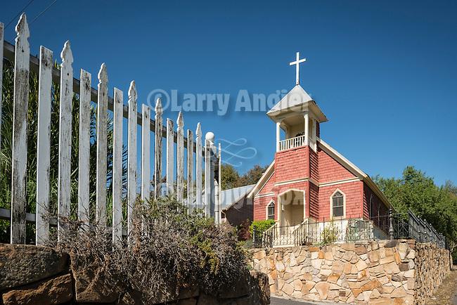 Methodist Episcopal church rebuilt 1900 and 1960, Knights Ferry, Calif.