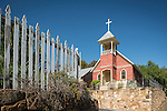 Methodist Episcopal church rebuilt 1900 and 1960, Knights Ferry, Calif.