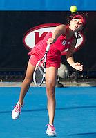AGNIESZKA RADWANSKA (POL) against PAULA ORMAECHEA (ARG) in the Second round of the women's Singles. Agnieszka Radwanska beat Paula Ormaechea  6-3 6-1 ..18/01/2012, 18th January 2012, 18.01.2012..The Australian Open, Melbourne Park, Melbourne,Victoria, Australia.@AMN IMAGES, Frey, Advantage Media Network, 30, Cleveland Street, London, W1T 4JD .Tel - +44 208 947 0100..email - mfrey@advantagemedianet.com..www.amnimages.photoshelter.com.