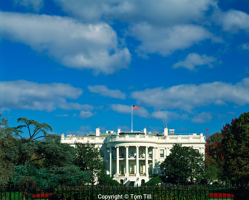 The White House, Home of U.S. President, Washington, D.C.