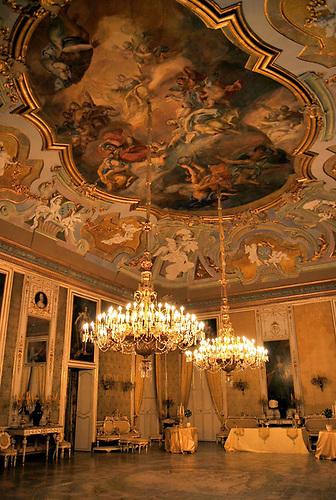 El palacio Valguarnera-Gangi, del siglo XVIII, donde Luchino Visconti rodó la escena más famosa de El Gatopardo.