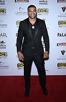 03 July 2019 - Las Vegas, NV - Shawne Merriman. 11th Annual Fighters Only World MMA Awards Arrivals at Palms Casino Resort. Photo Credit: MJT/AdMedia