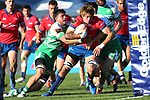 BLENHEIM, NEW ZEALAND - AUGUST 24: during the round 3 Mitre 10 Cup match between Tasman and Manawatu at Lansdowne Park on August 24, 2019 in Blenheim, New Zealand.(Shuttersport)