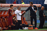 Patrik Schick, Eusebio Di Francesco <br /> Roma 01-09-2017 Stadio Olimpico Football Friendly match AS Roma - Chapecoense Foto Andrea Staccioli / Insidefoto
